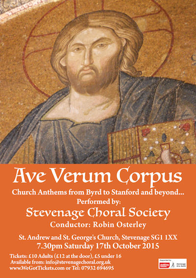 Ave Verum Poster image for website