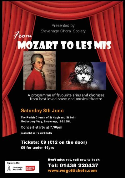 Mozart to Les Mis poster image